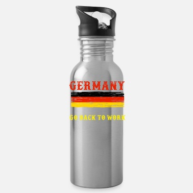 Humor Fun Facts About Germany No Fun in Germany - Water Bottle