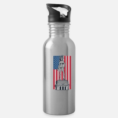 Enviromental Global Warming Protests Climate USA Save Gift - Water Bottle