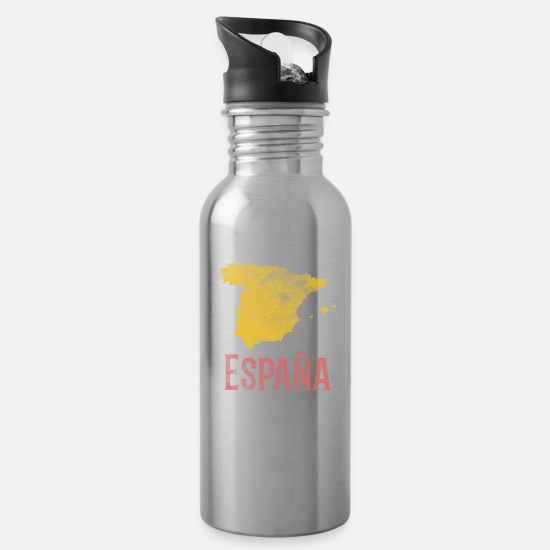 Spain Mugs & Drinkware - Spain - Water Bottle silver