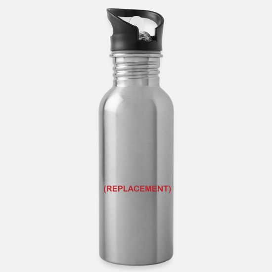 I Just Had A Joint Replacement Funny Knee Water Bottle - white
