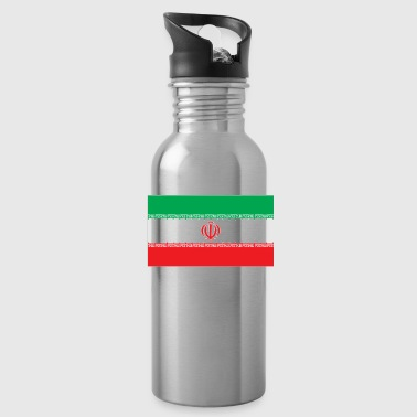 Iran flag - Water Bottle