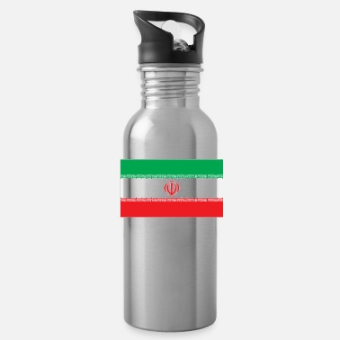 Iran Flag Iran flag - Water Bottle