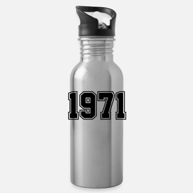 Date Of Birth 1971 | Birth Year | Birthday | Anniversary | Birth - Water Bottle