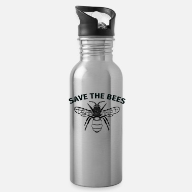 Bee Save the bees awesome design of a bee - Water Bottle