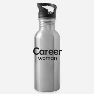 Career Career Woman - Water Bottle