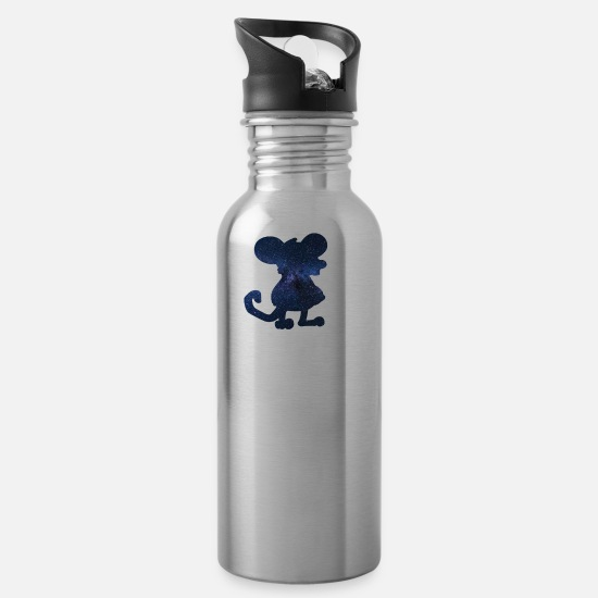 Mouse Mugs & Drinkware - mouse - Water Bottle silver