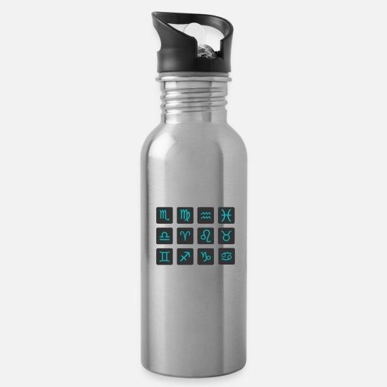 Astrology Mugs & Drinkware - Astrology - Water Bottle silver