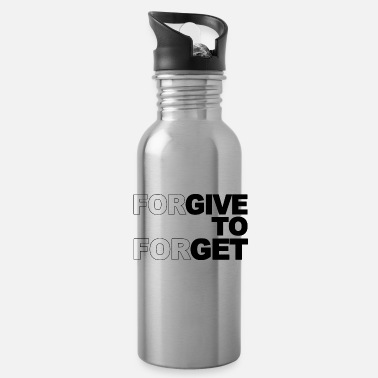 Forgiveness Forgive to forgive - Water Bottle