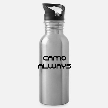 Camo Camo always - Water Bottle