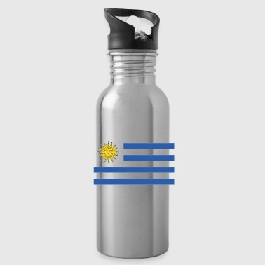 Bandera de Uruguay - Water Bottle