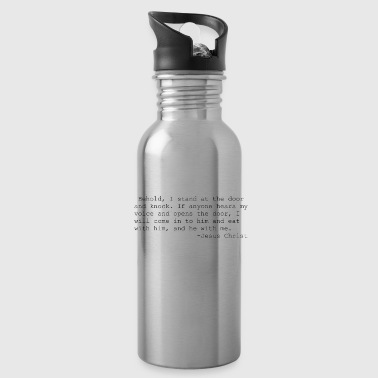 Jesus quotations - Water Bottle