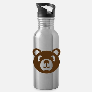 Stuffed Animal bear wild animal stuffed animal - Water Bottle