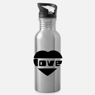 Love With Heart love with heart - Water Bottle