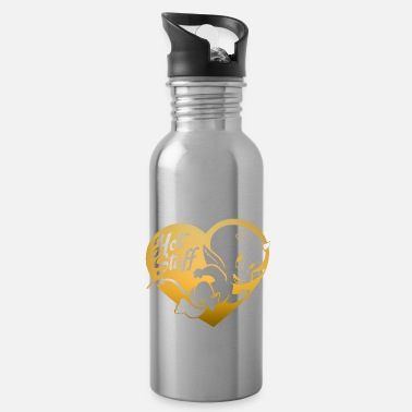 Devil Hot Stuff Mischievous Heart Devil - Water Bottle