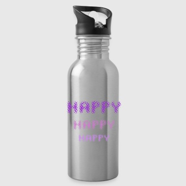 Happy Happy Happy - by Fanitsa Petrou - Water Bottle