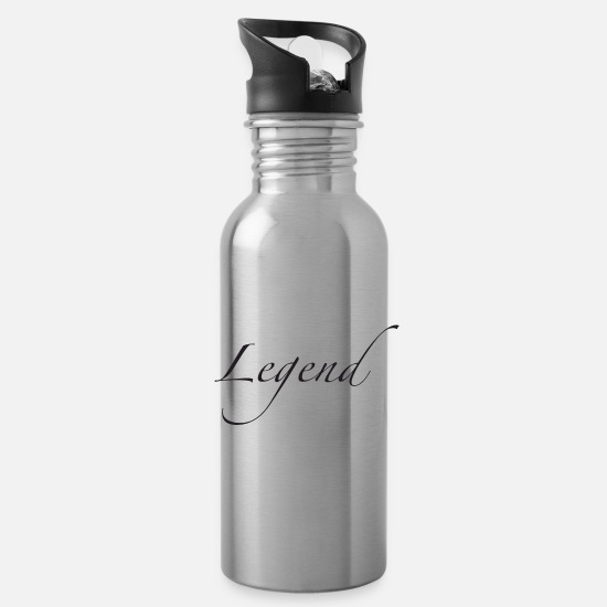 Legend Mugs & Drinkware - Legend - Water Bottle silver