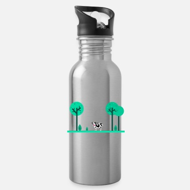 Meadow summer meadow - Water Bottle