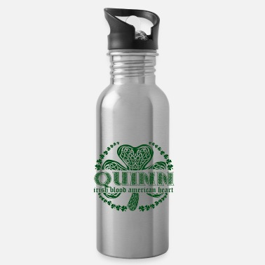 Surname irish family name surname quinn - Water Bottle