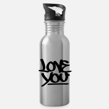 Love You Love You - Water Bottle