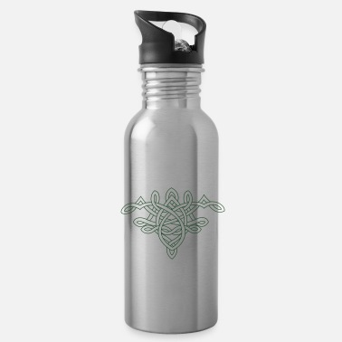 Hand Drawn Hand drawn knot - Water Bottle