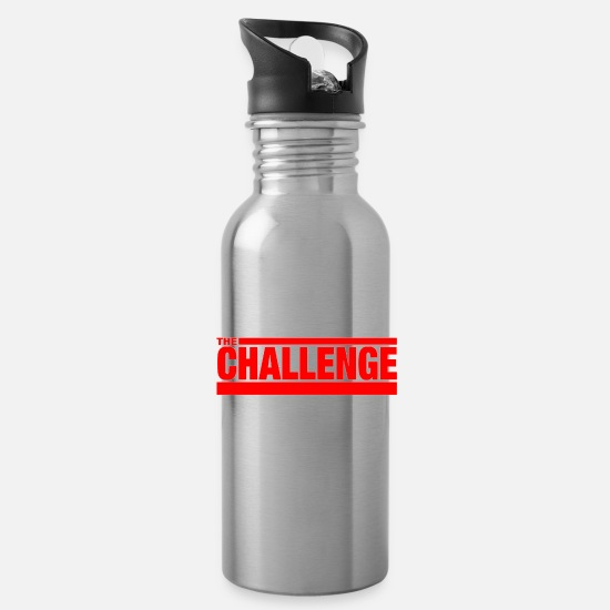Mtv Mugs & Drinkware - MTV The Challenge - Water Bottle silver