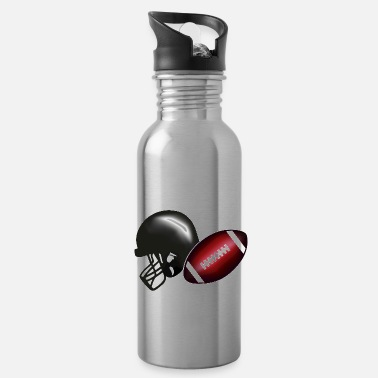 American Football American football, football & helmet - Water Bottle