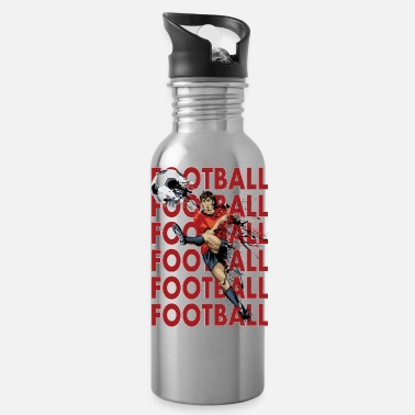 Football Football Football Football - Water Bottle
