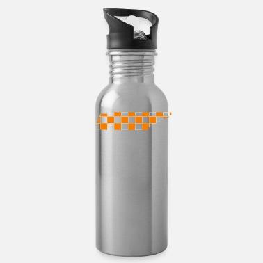 Shop Checkerboard Drinking Bottles online   Spreadshirt