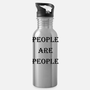 People People Are People - Water Bottle