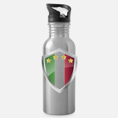 Italy Emblem Italy - Water Bottle