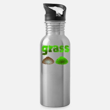 Grass grass - Water Bottle