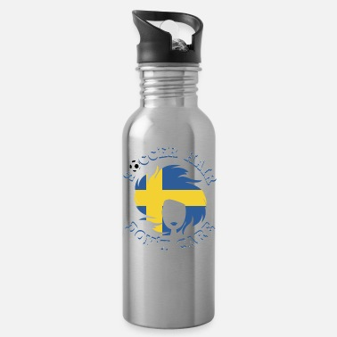Soccer Sweden Womens Soccer Kit France 2019 Girls - Water Bottle