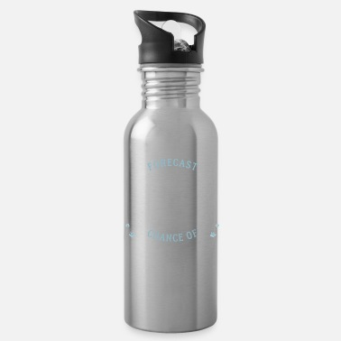 Athletic Weekend Forecast Fencing And Drinking Party Gift - Water Bottle