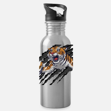 Scratch Tiger Scratch | Scratch Marks - Water Bottle