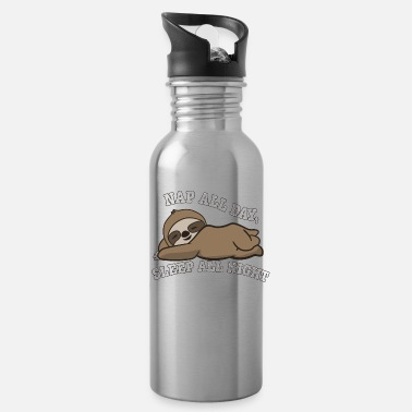 Sloths Sloth Outfit Sleep all day - Water Bottle