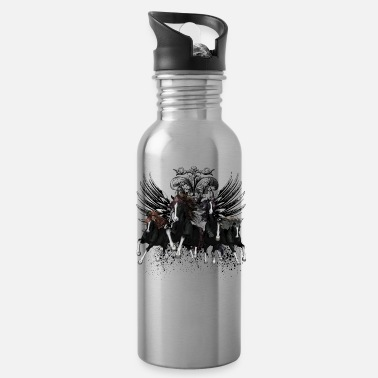 Running Awesome wild running horses - Water Bottle
