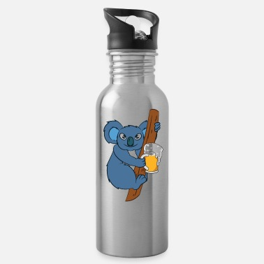Beer Koala Bear With Beer - Water Bottle