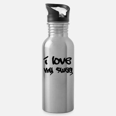 Chant love my swAG - Water Bottle