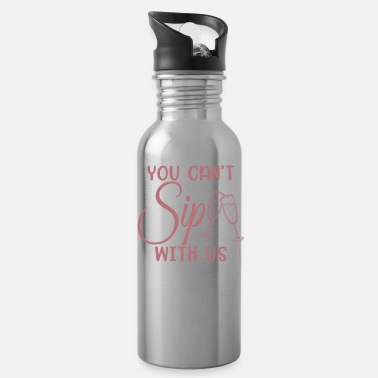 Stag Can't Sip With Us - Bachelorette Party Bride Gift - Water Bottle