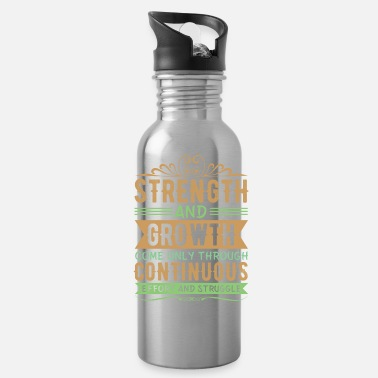 Effort Effort and struggle - Water Bottle