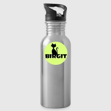 Name Day Birgit Name first name - Water Bottle