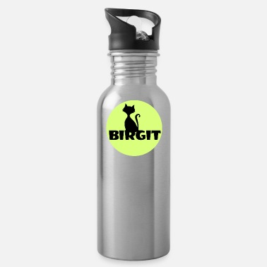 First Name Birgit Name first name - Water Bottle