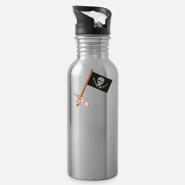 Pirate Flag Pirate Flag - Water Bottle