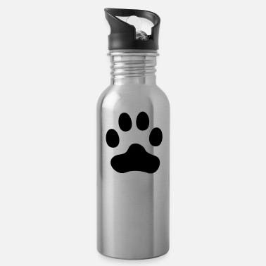 Paws Dogs Cat Paw dog paw - Water Bottle