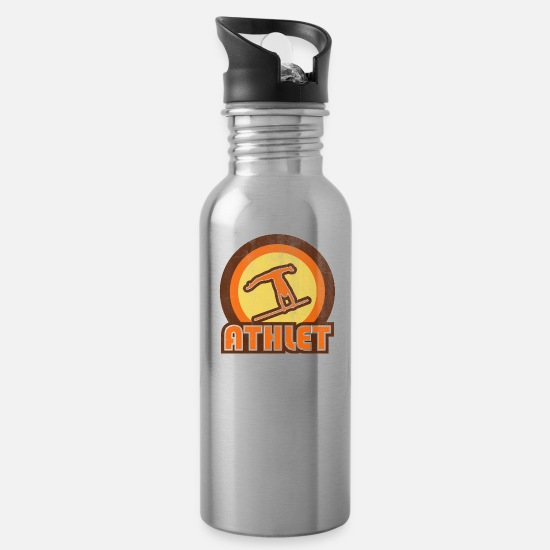 Athletics Mugs & Drinkware - Athlet - Water Bottle silver