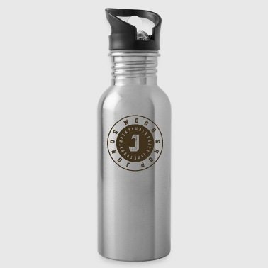 New Age JordsWoodShop New Age Logo Round - Water Bottle