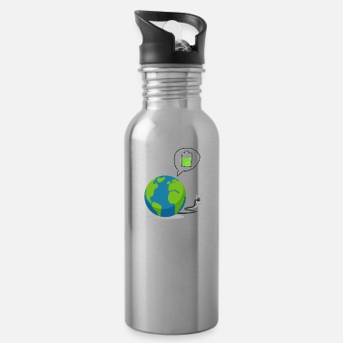 Recharge Recharge The World - Recharge The Earth - Water Bottle