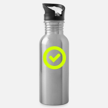 Check Mark Check - Water Bottle