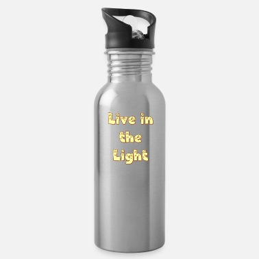 Cool Live in The Light. Be a Cool Christian. - Water Bottle