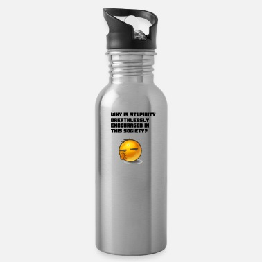 Breathless Stupidity - Water Bottle